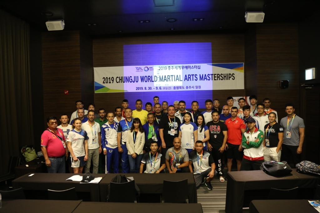 #2019 CWMAM Day 1 – Team Manager Meeting