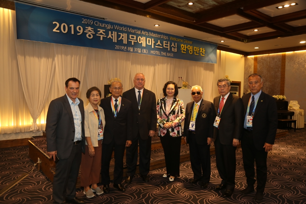 #2019 CWMAM Day 3 – Dinner Hosted By HE Mr. Ban Ki-Moon
