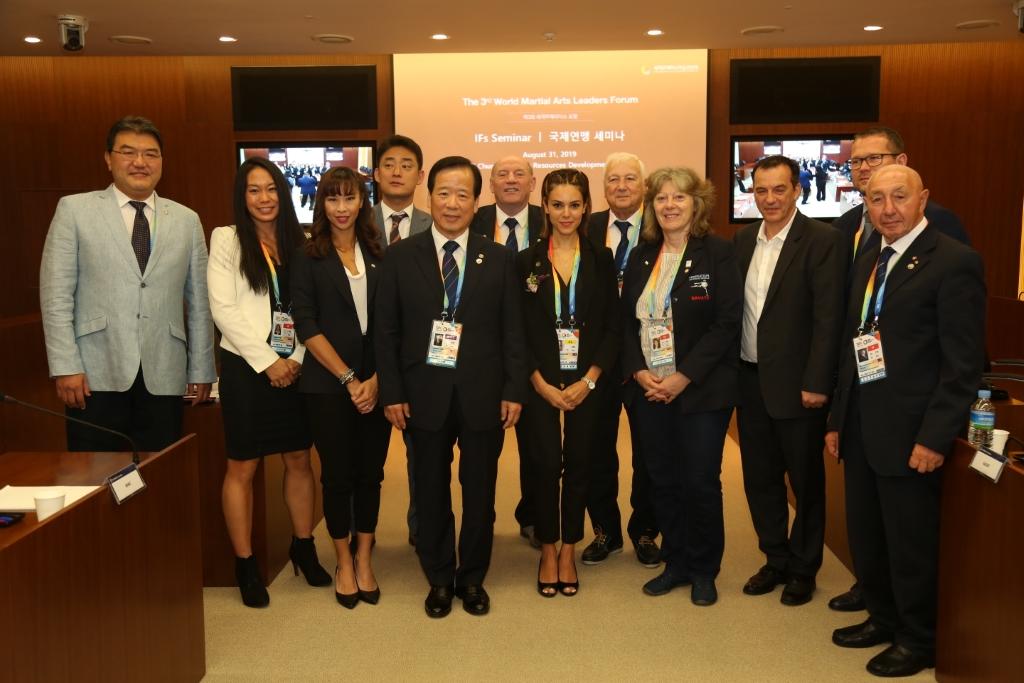 #2019 CWMAM Day 4 – WMC GAISF UTS Joint Meeting